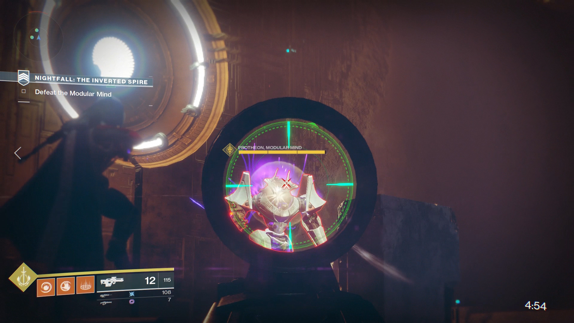 Destiny 2 - The Inverted Spire Nightfall Guide   Shacknews