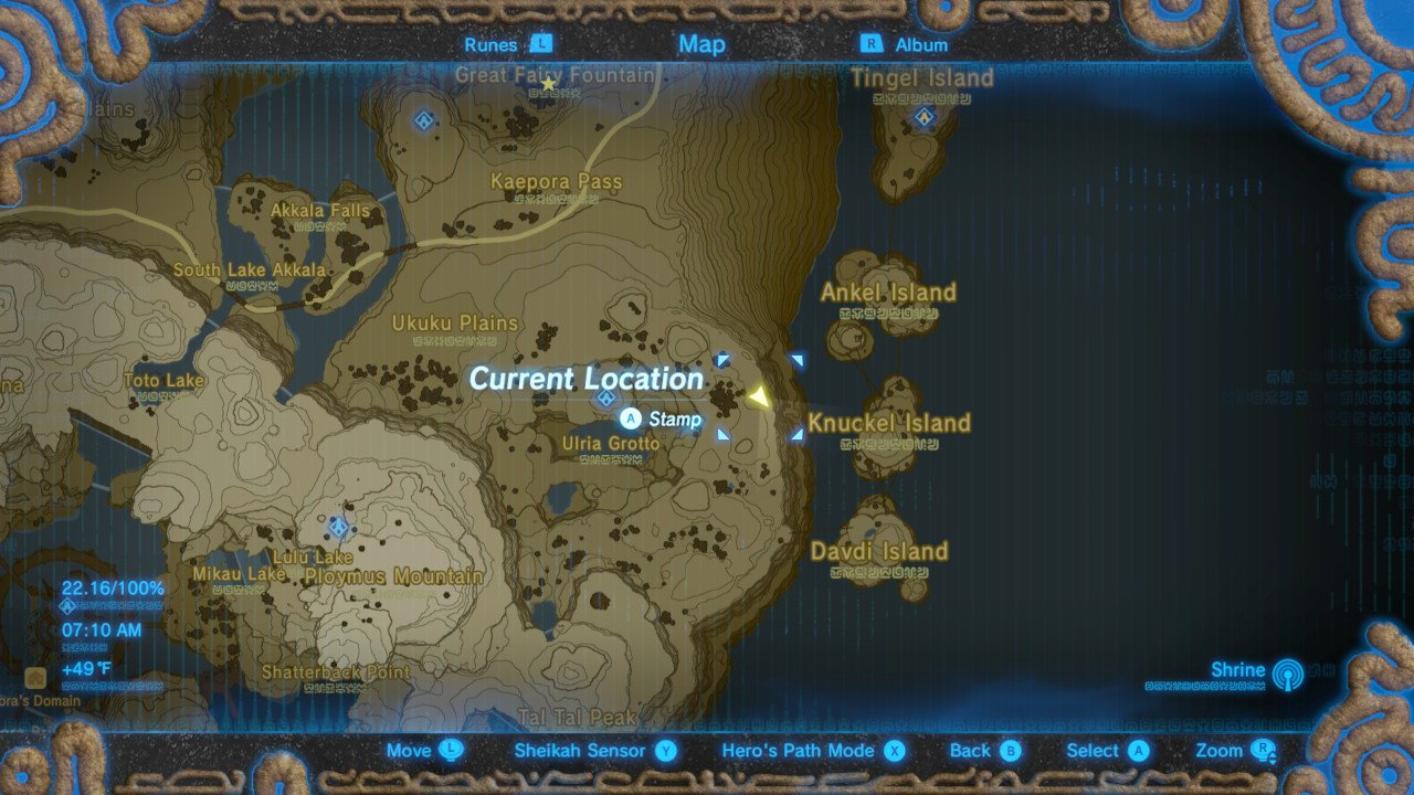 Zelda: Breath of the Wild Mipha's Song Walkthrough | Shacknews