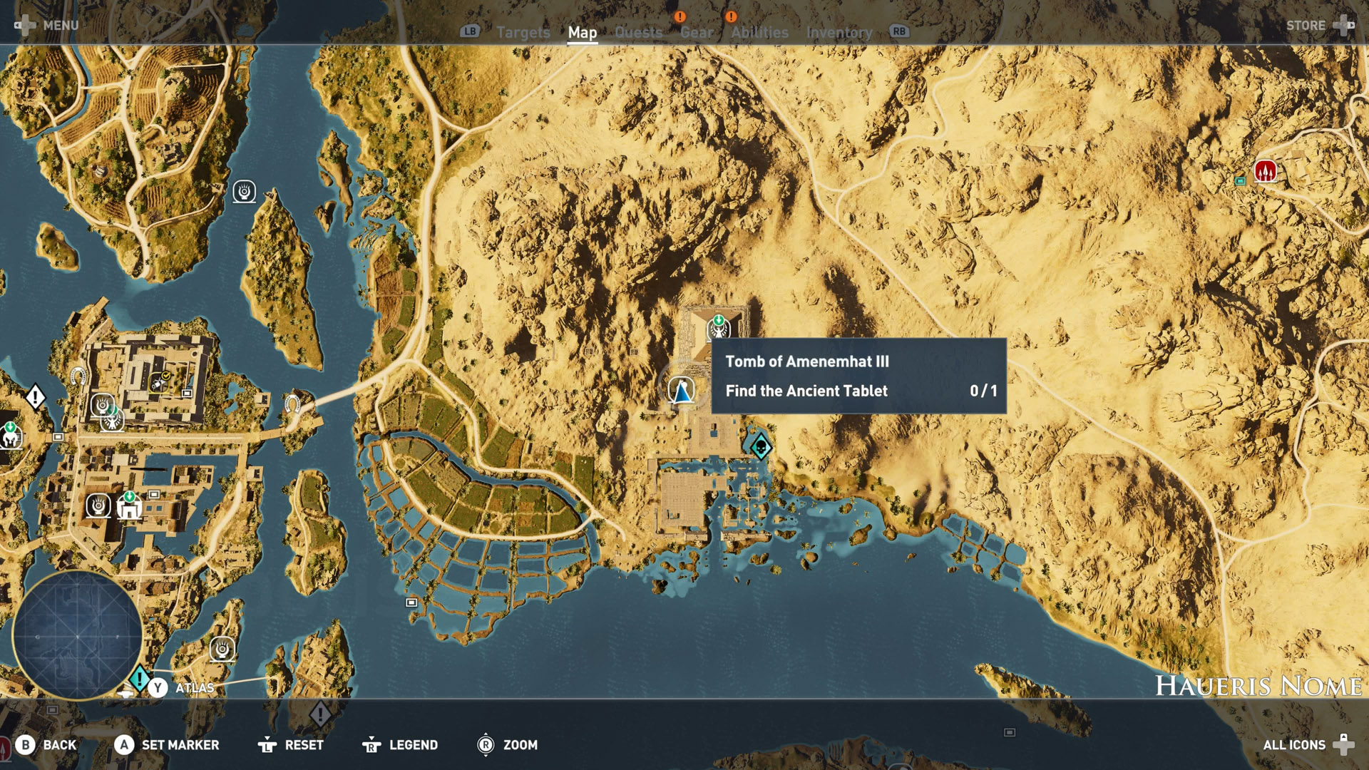 Assassin's Creed Origins - All Tomb Locations | Shacknews