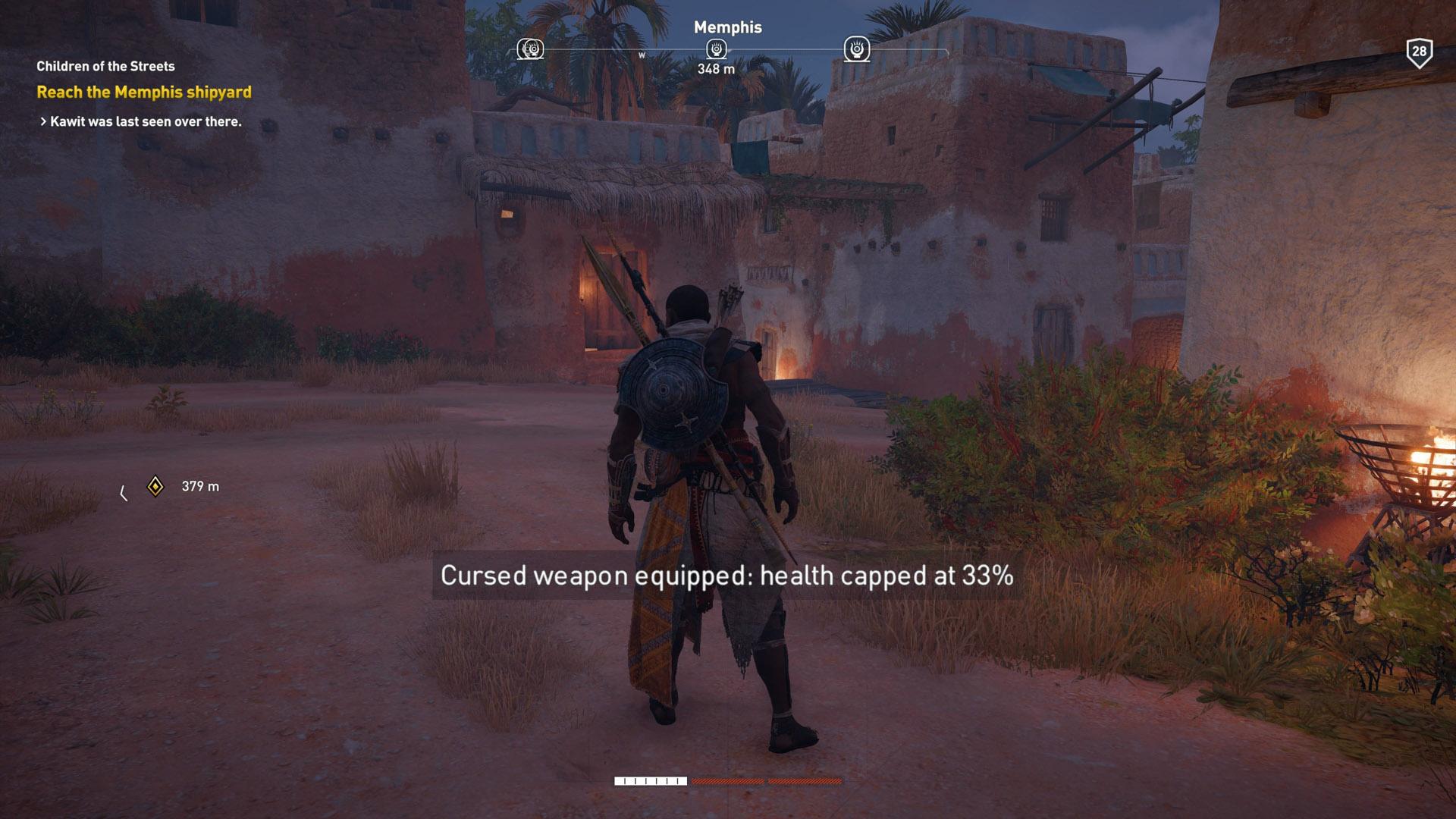 assassins creed origins hack and slash