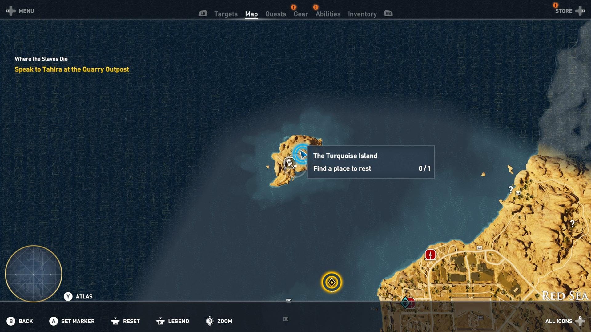 Assassins creed origins all hermit locations shacknews one of the first hermit locations you can found is out in the red sea in the north this little island has a few treasure to find gumiabroncs Gallery