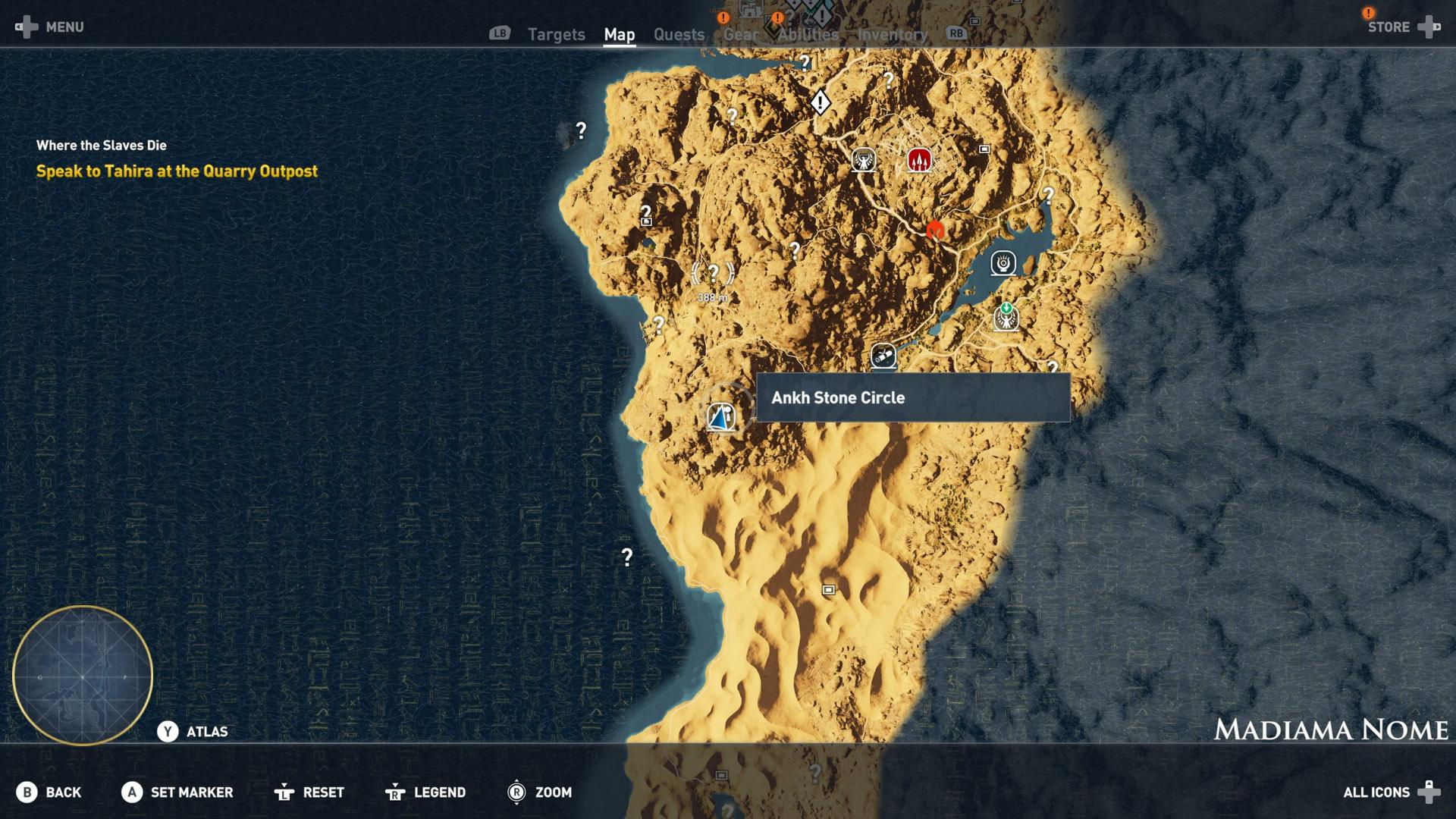 Assassin S Creed Origins All Stone Circles Align The Stars Shacknews