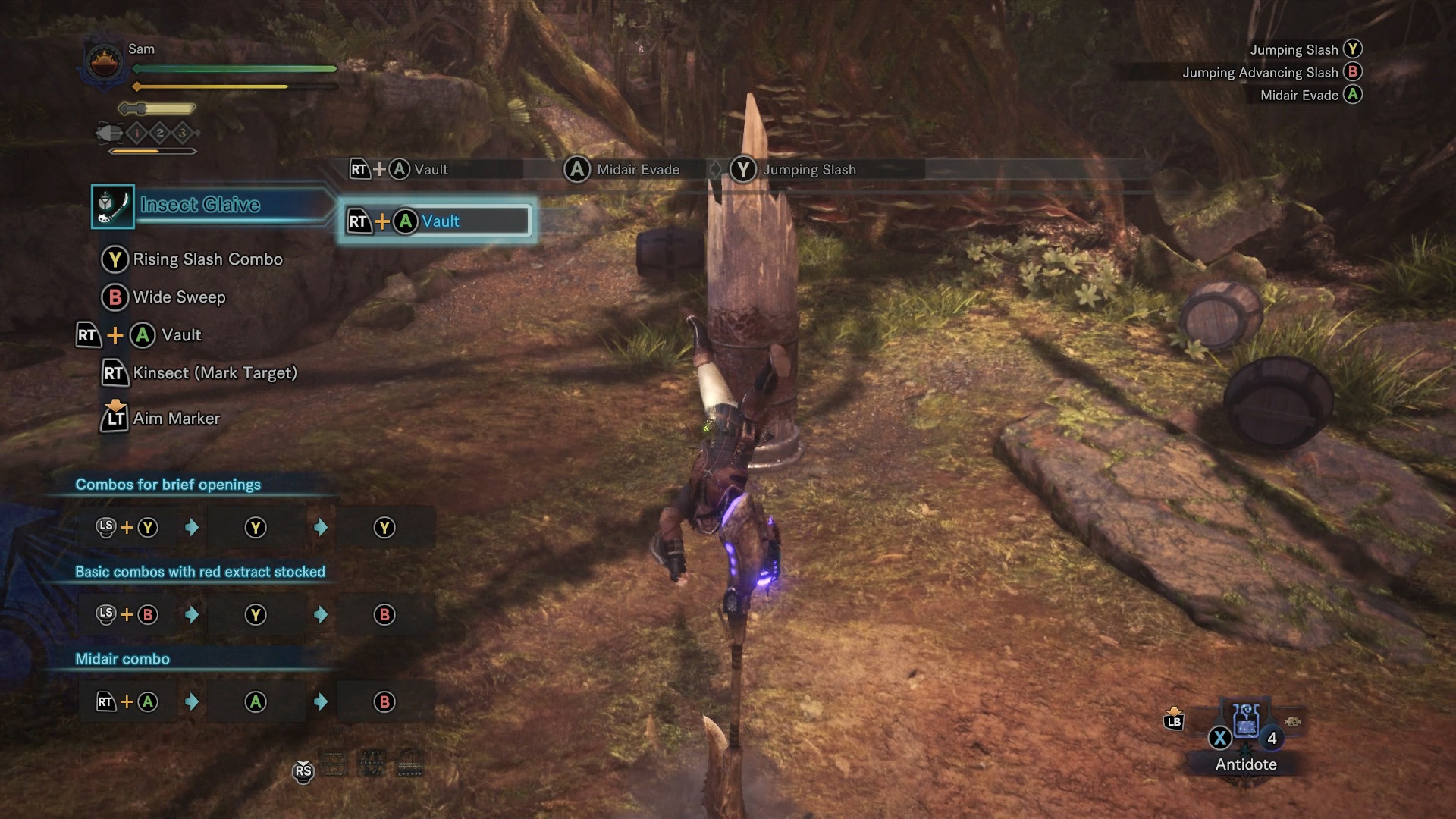 Monster Hunter World - Insect Glaive and Kinsects | Shacknews