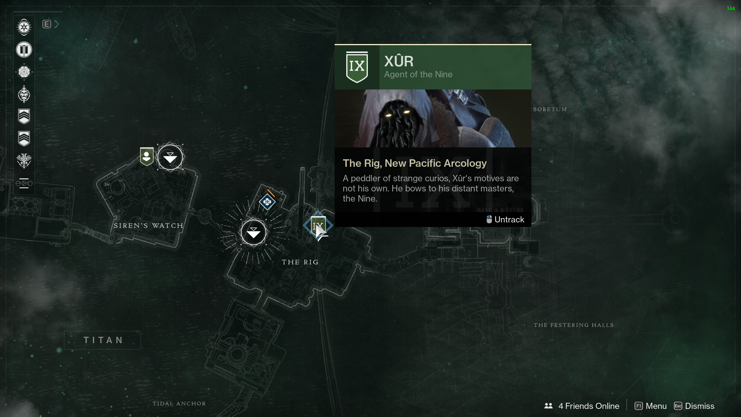 Destiny 2 - Where is Xur and What is He Selling - January 26