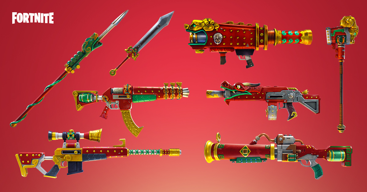 with spring it on which includes the heartbreaker sniper crossbow some new valentine s quests and new heroes and weapons to celebrate lunar new year - chinese new year fortnite event