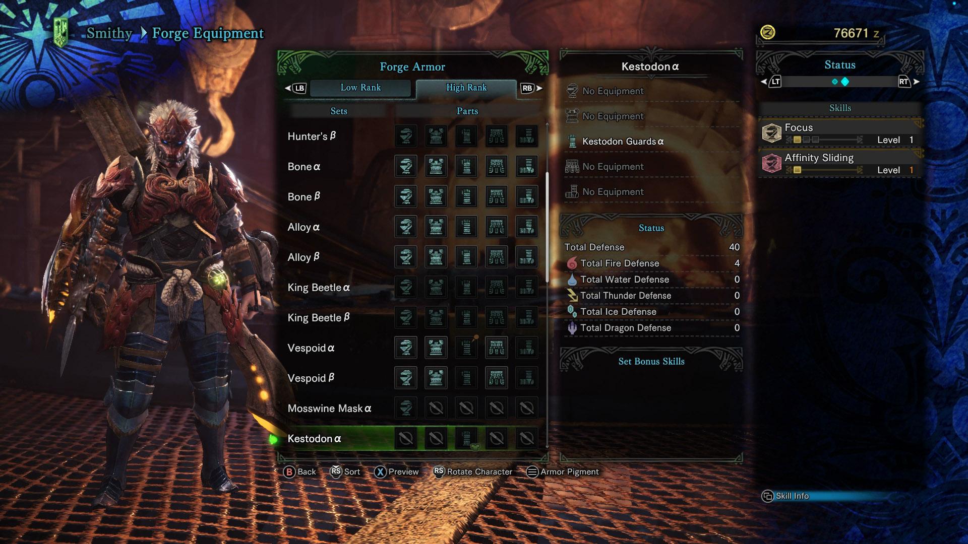Monster Hunter World Equipment Editor