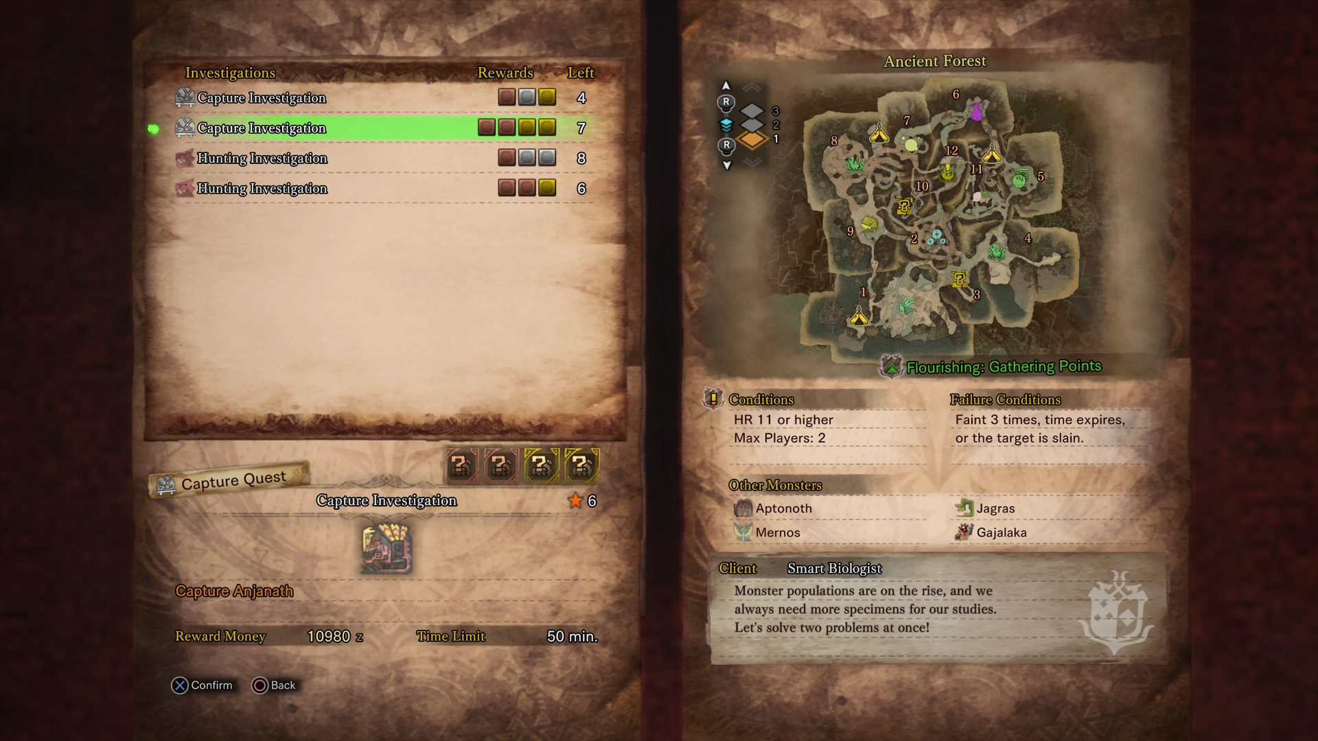 How to Get an Anjanath Gem in Monster Hunter World | Shacknews