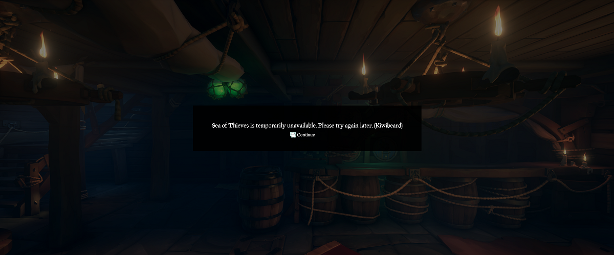 Sea of Thieves - Kiwibeard Error | Shacknews