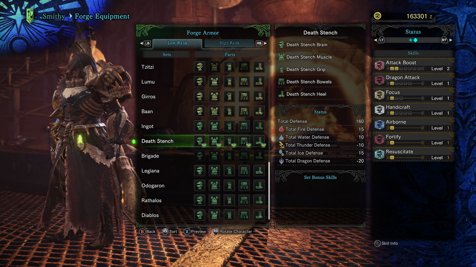 How to Get Death Stench Armor in Monster Hunter World | Shacknews