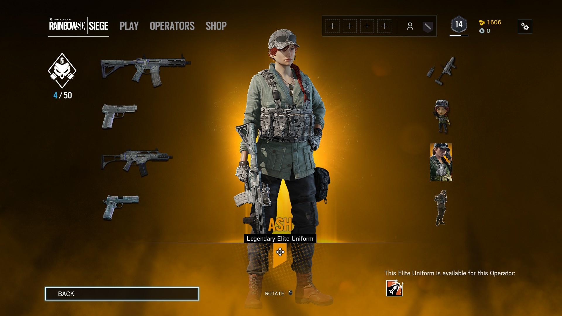 How to Equip Elite Skins in Rainbow Six Siege | Shacknews