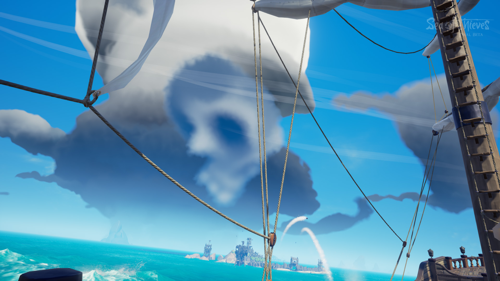 What Does The Skull Cloud Mean In Sea Of Thieves Shacknews