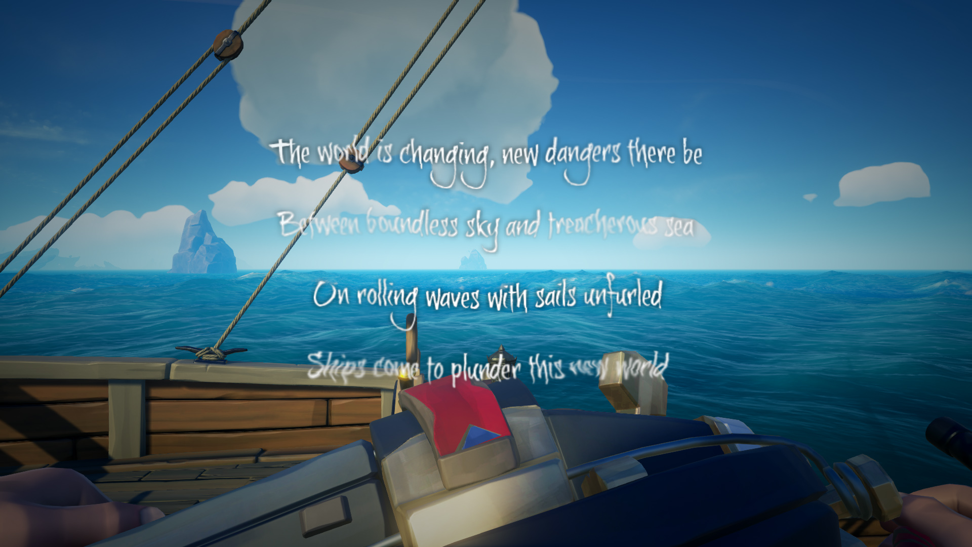 What Does The World is Changing Mean in Sea of Thieves