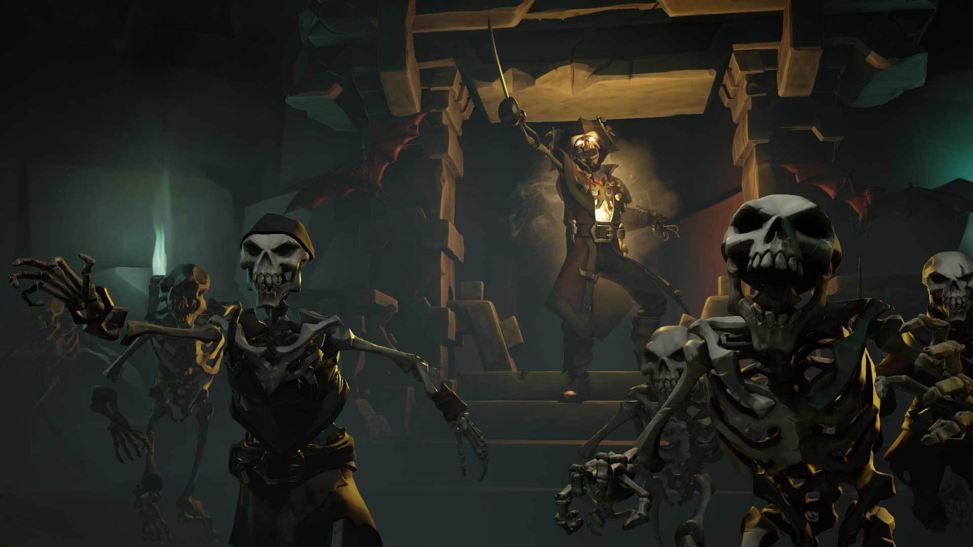 Checking The Pirate Roster In Sea Of Thieves Shacknews
