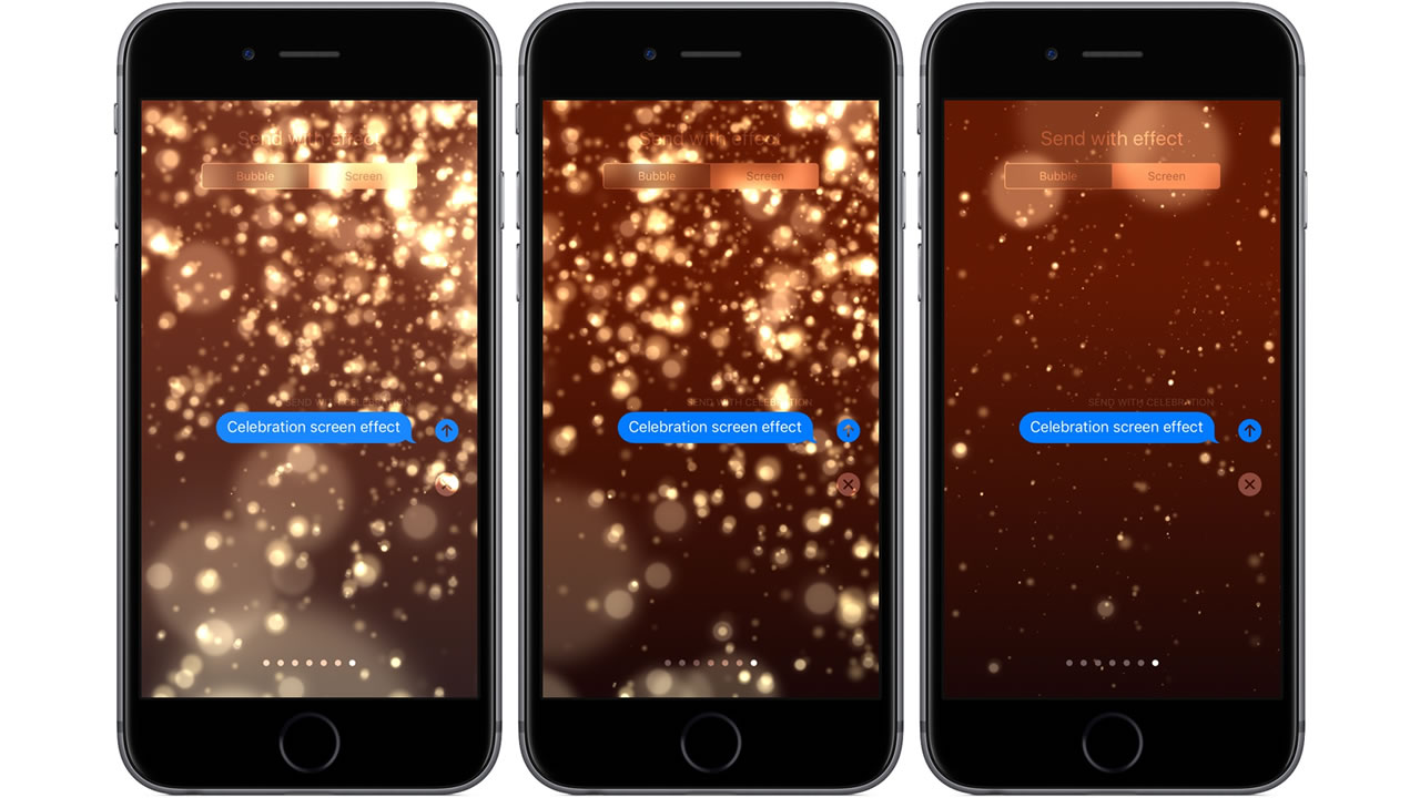 how to send fireworks screen effect on iphone shacknews
