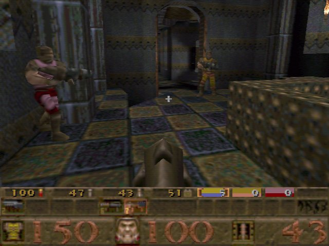 Threading the Needle: The Making of Quake Team Fortress