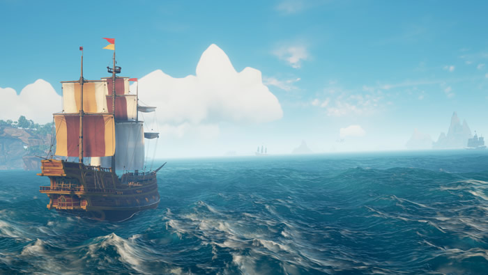 How to Spot Sunken Ships and Shipwrecks in Sea of Thieves