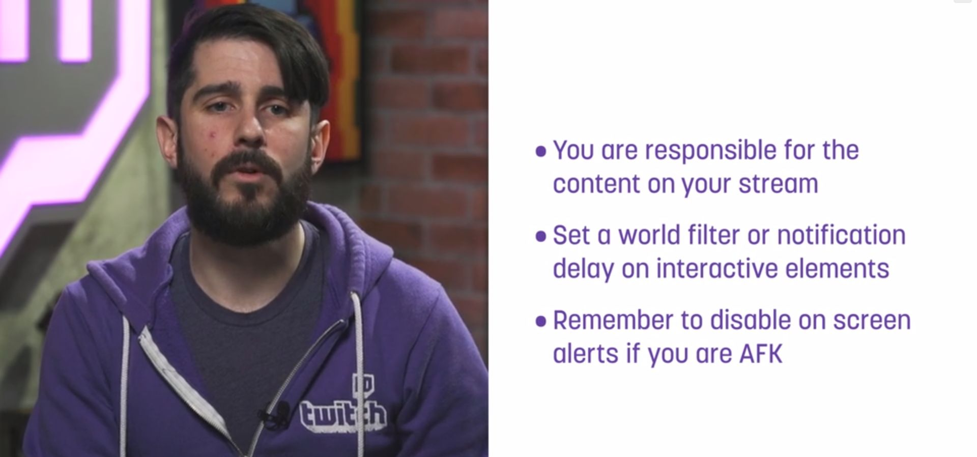 New Twitch Guidelines Tackle Harassment, Dress Code, Off-Stream