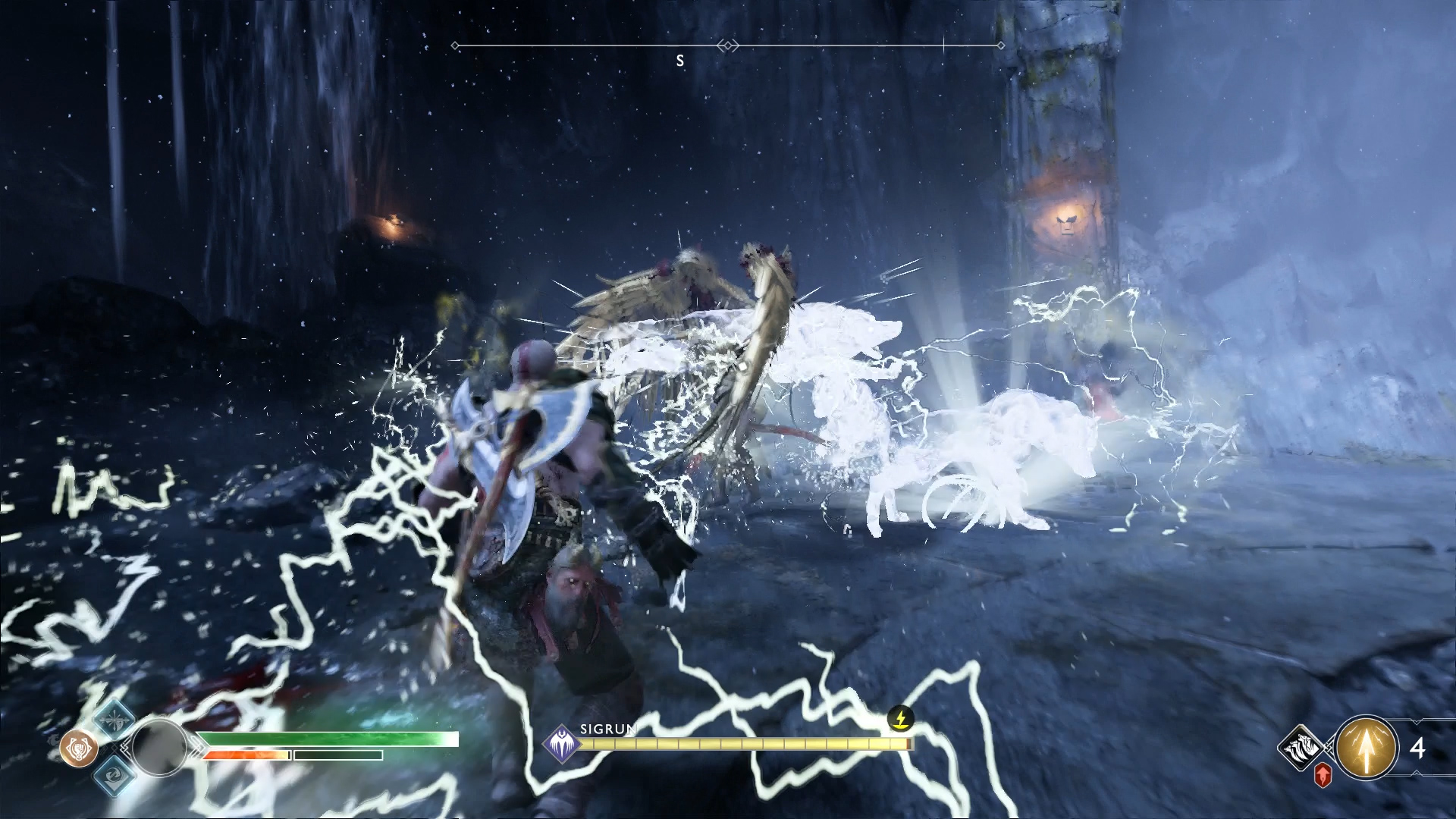 How to Defeat the Valkyrie Queen Sigrun in God of War   Shacknews