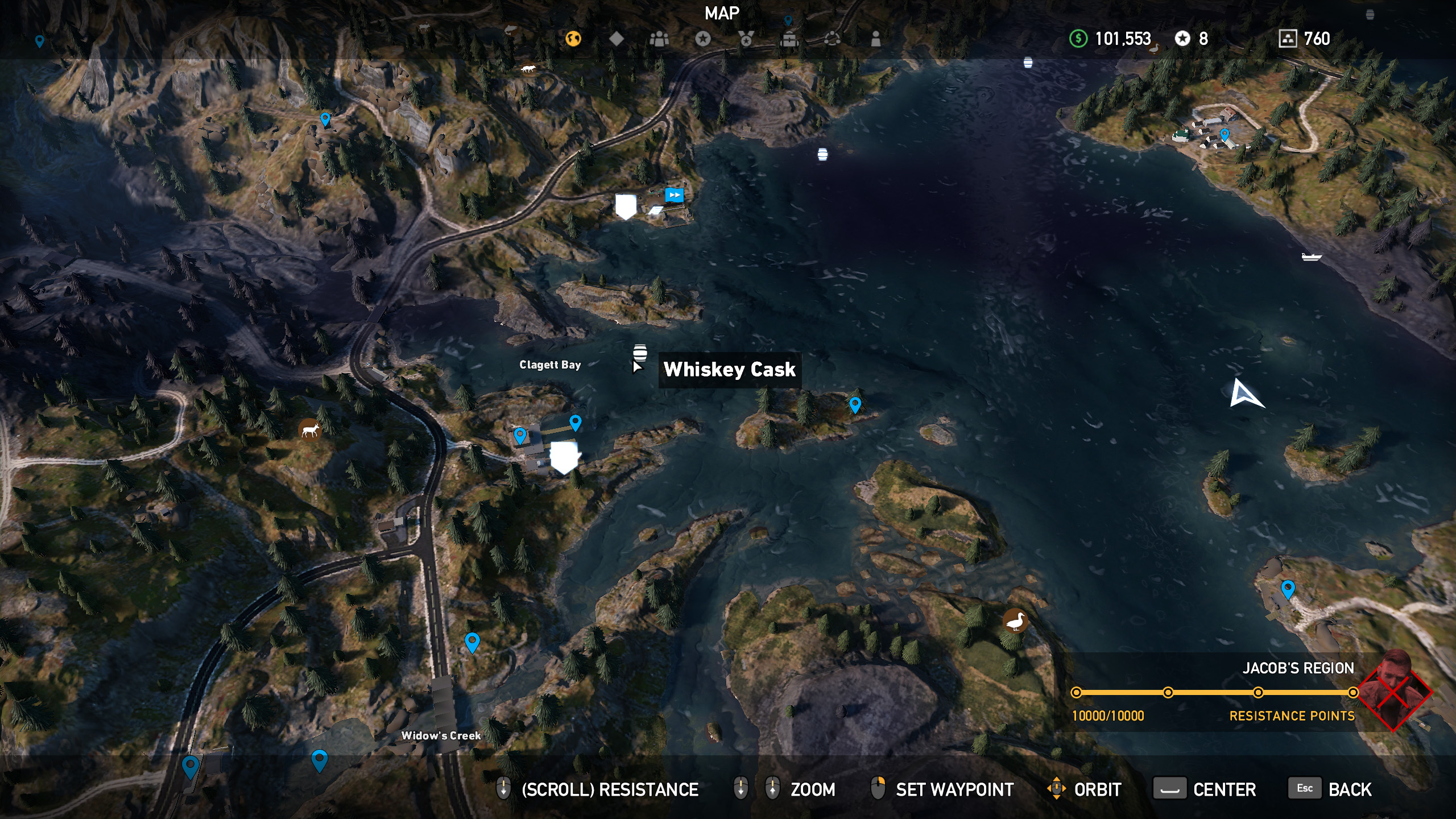 Far Cry 5 whiskey barrel location 11
