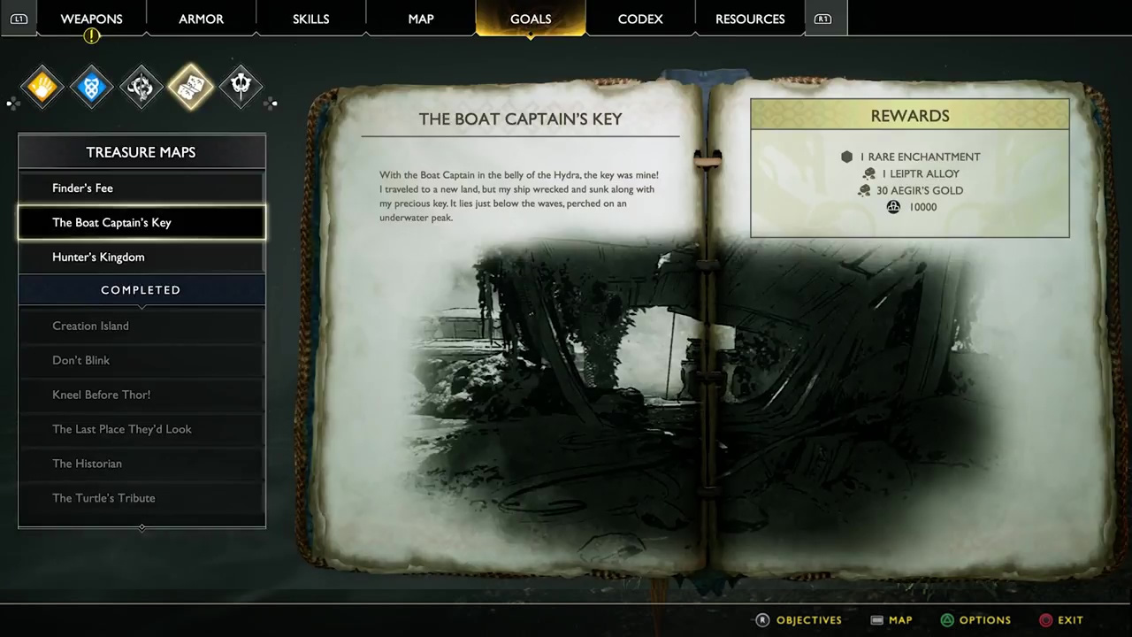 The Boat Captain's Key Treasure Map Location and Solution