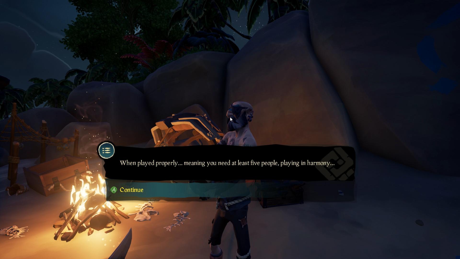 Merrick's Quest Walkthrough in The Hungering Deep - Sea of