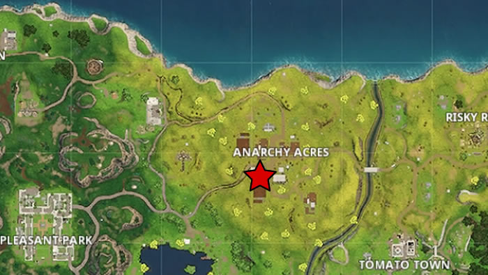 All Letter Locations   Fortnite Season 4 Battle Pass Challenge