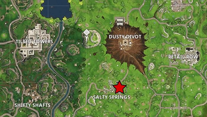 All Letter Locations Fortnite Season 4 Battle Pass Challenge
