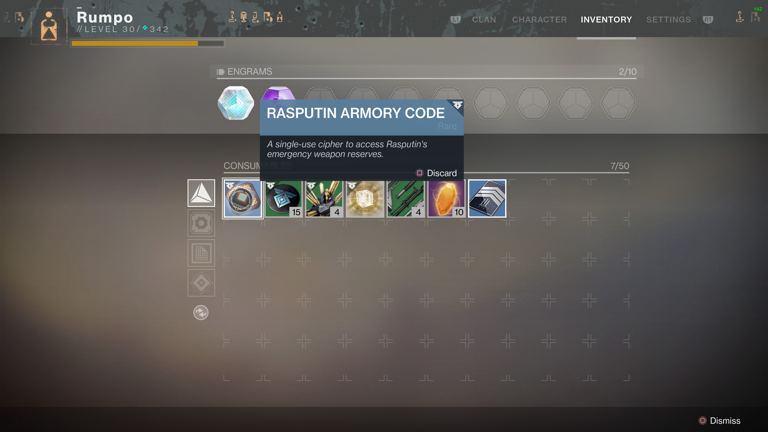 What Does Requires Armory Code Mean in Destiny 2? | Shacknews