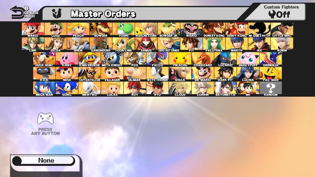 2018 Super Snake >> Full roster of characters for Super Smash Bros. Ultimate | Shacknews