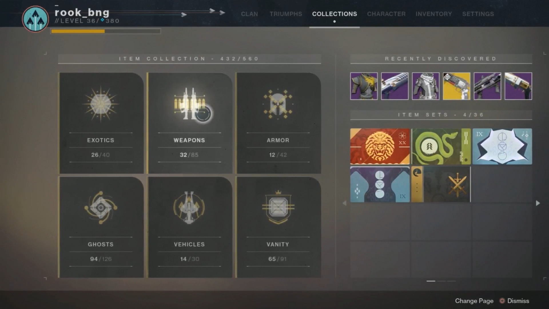 destiny 2 forsaken adds collections feature for completionists in