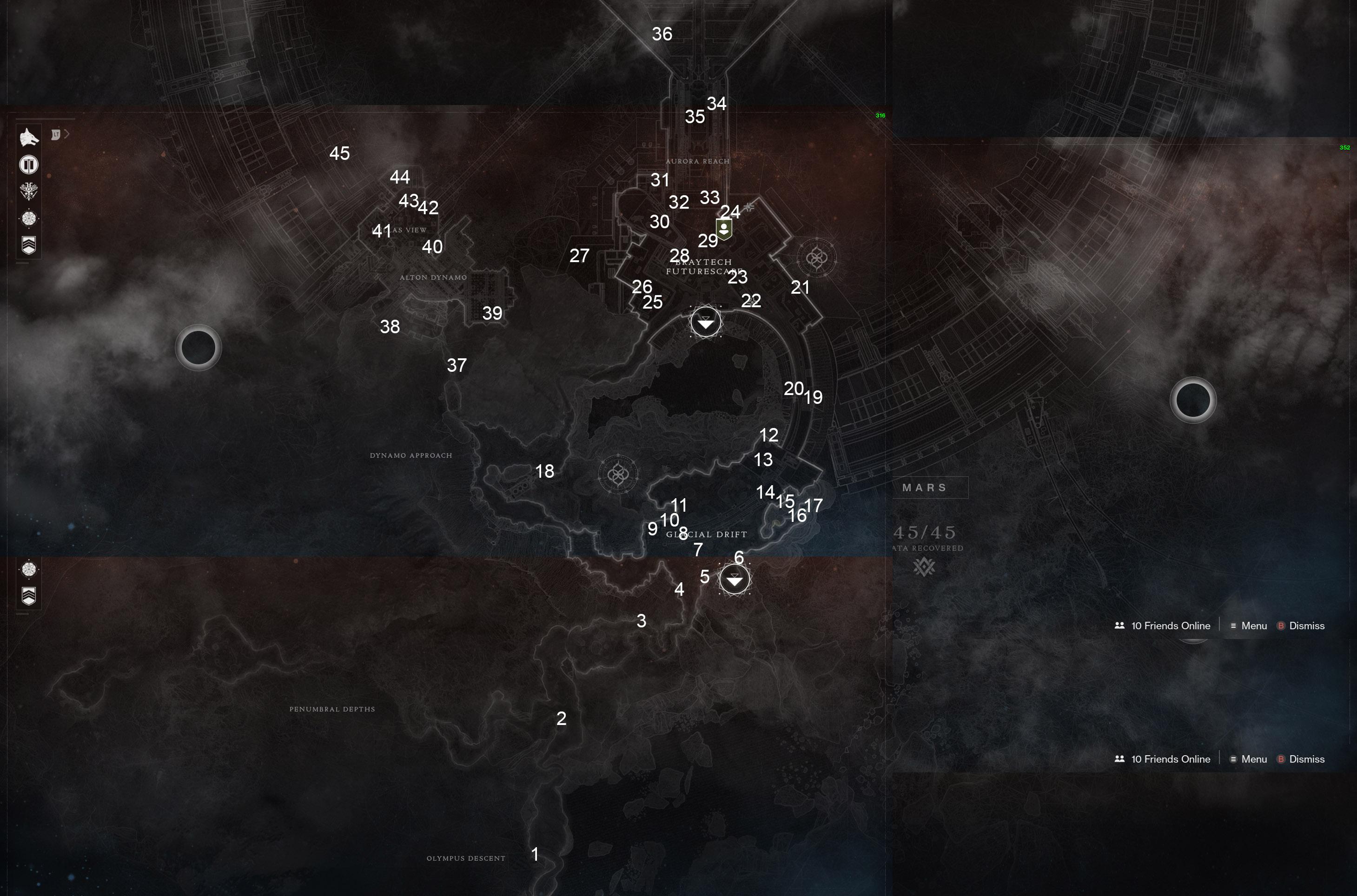 how to find sleeper nodes destiny