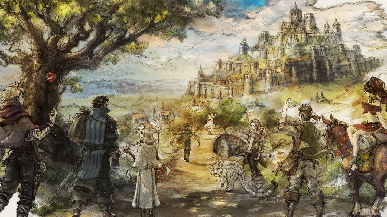 Job Classes, Attribute Bonuses, and Skills List - Octopath