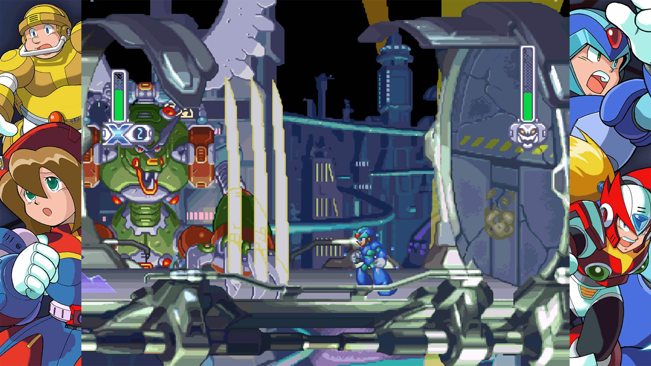 Mega Man X Legacy Collection 1 and 2 Review: X Marks The Spot