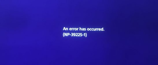 PSN Down, NP-39225-1 Error Causing PS4 Network Outages