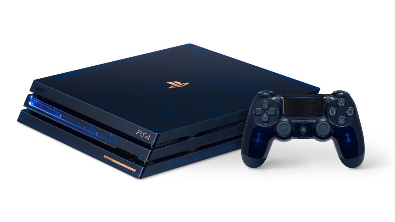 Sony Celebrates 500 Million Systems Sold With Limited Edition PS4 Pro
