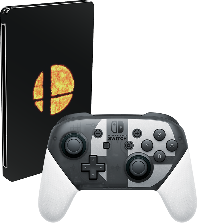Smash Bros. Ultimate Gets a Custom Switch Pro Controller