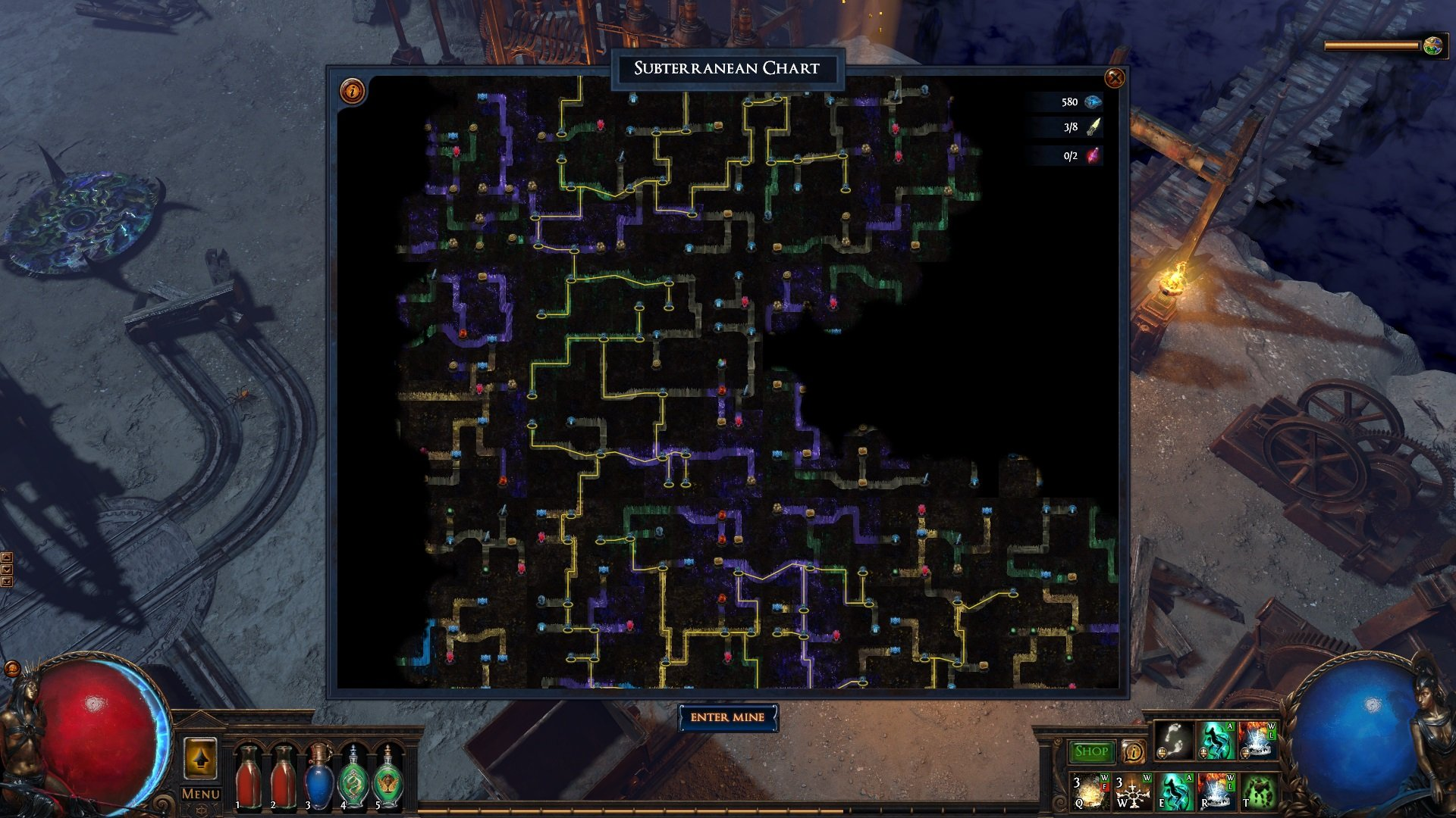 Path of Exile Delve Azurite Mine's Infinite Depths Guides