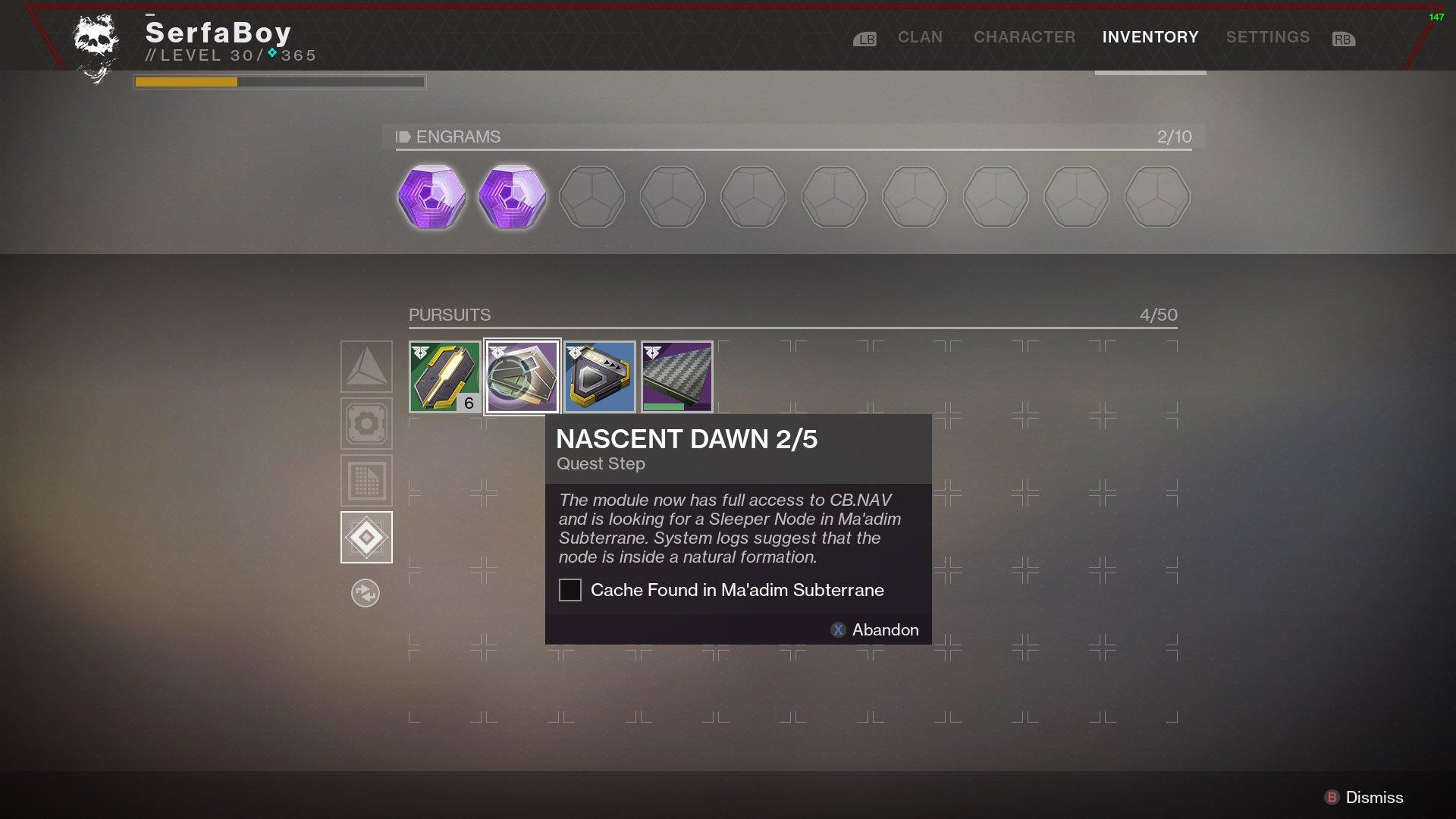 all nascent dawn quest steps in destiny 2 shacknews