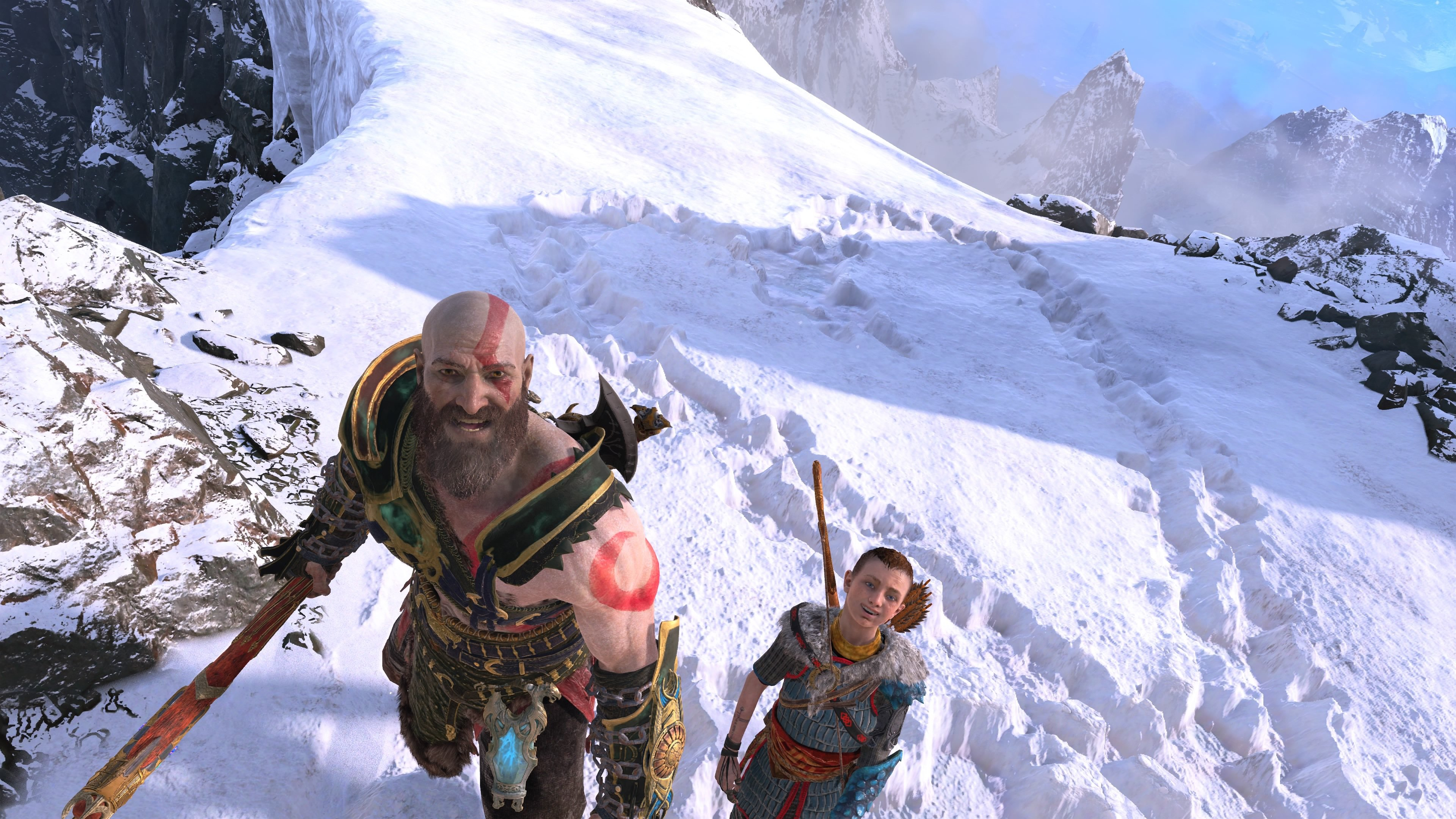 god of war how to use phot mode