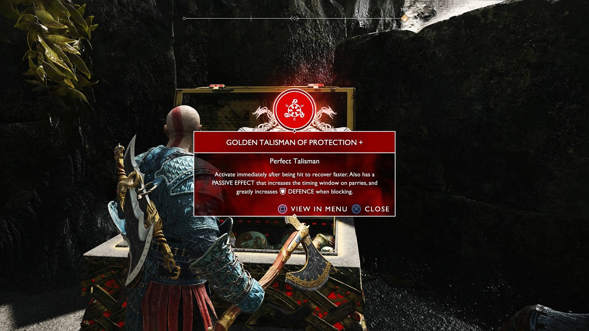 How to get the Golden Talisman of Protection+ in God of War | Shacknews