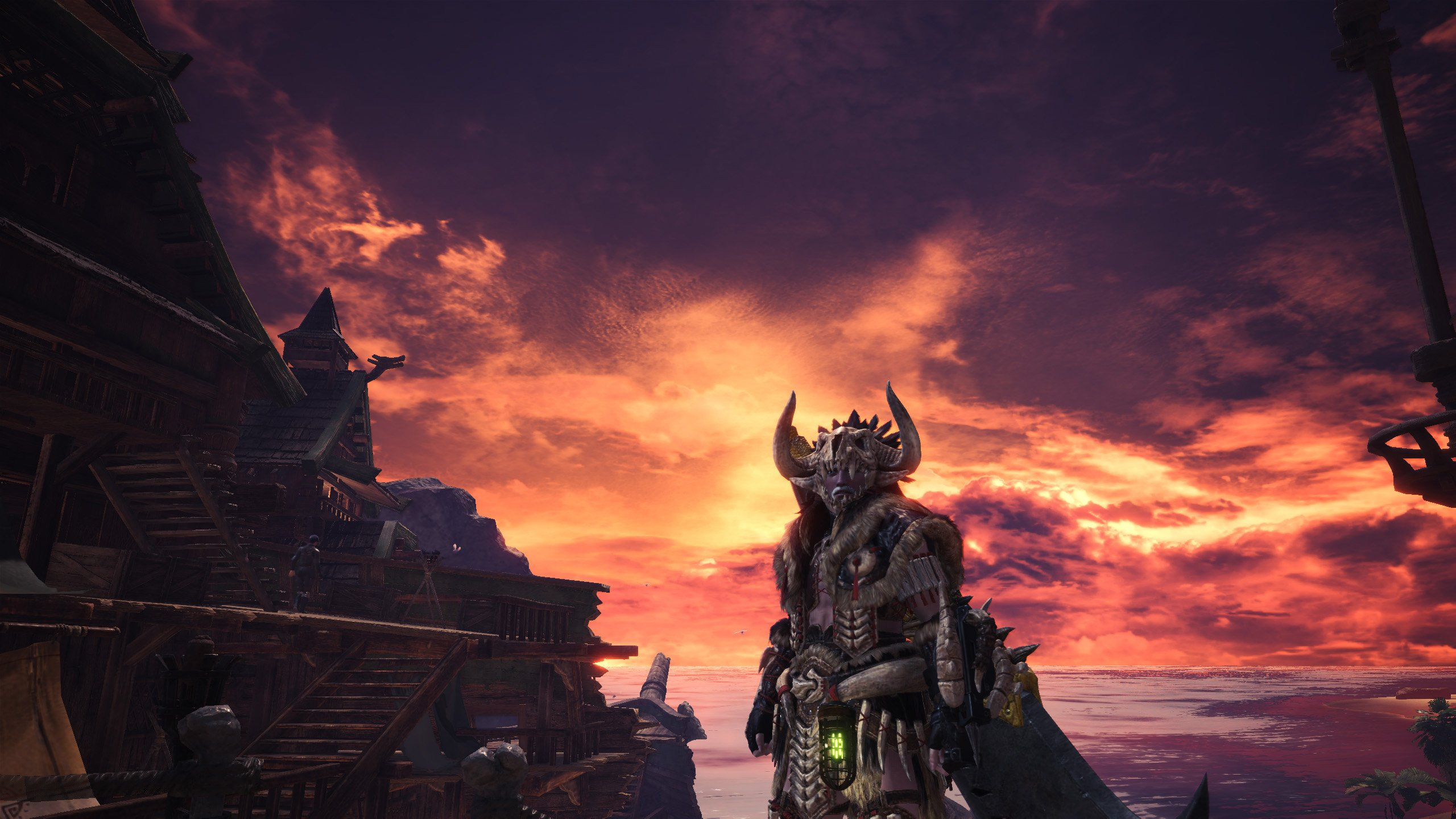 Monster Hunter: World can still be beautiful when you remove the HUD and aren't in a cinematic.
