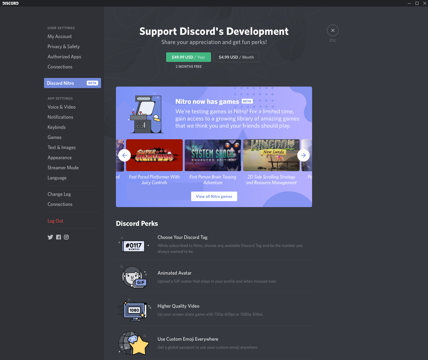 Discord Store is the chat platform's game storefront meant