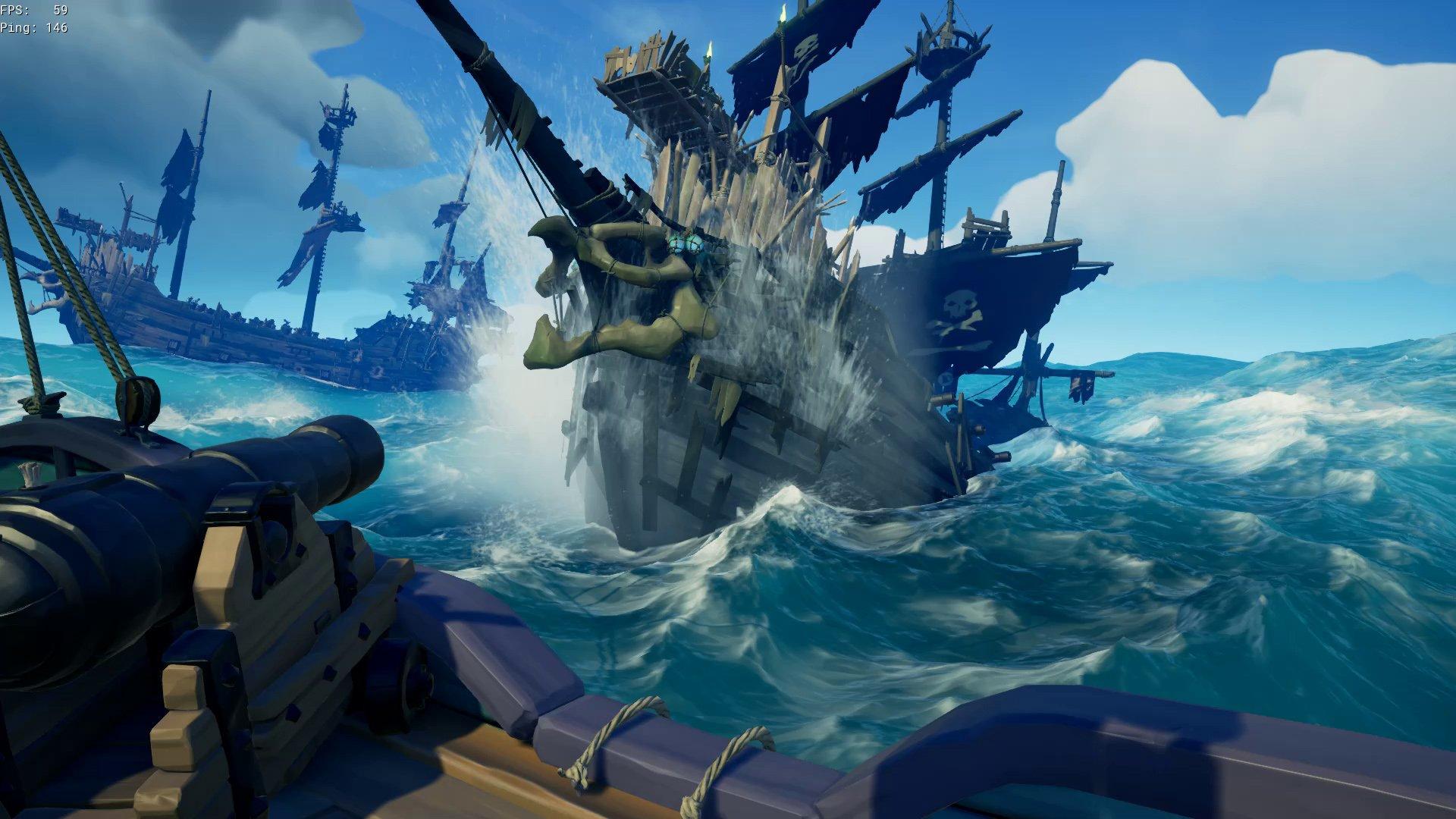 Image result for sea of thieves ghost ship