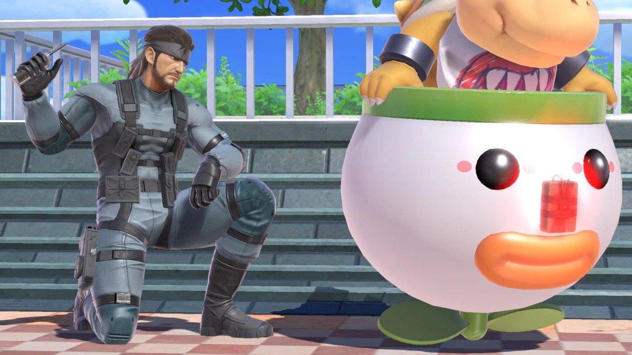 Super Smash Bros  Ultimate Character Profiles: Snake | Shacknews