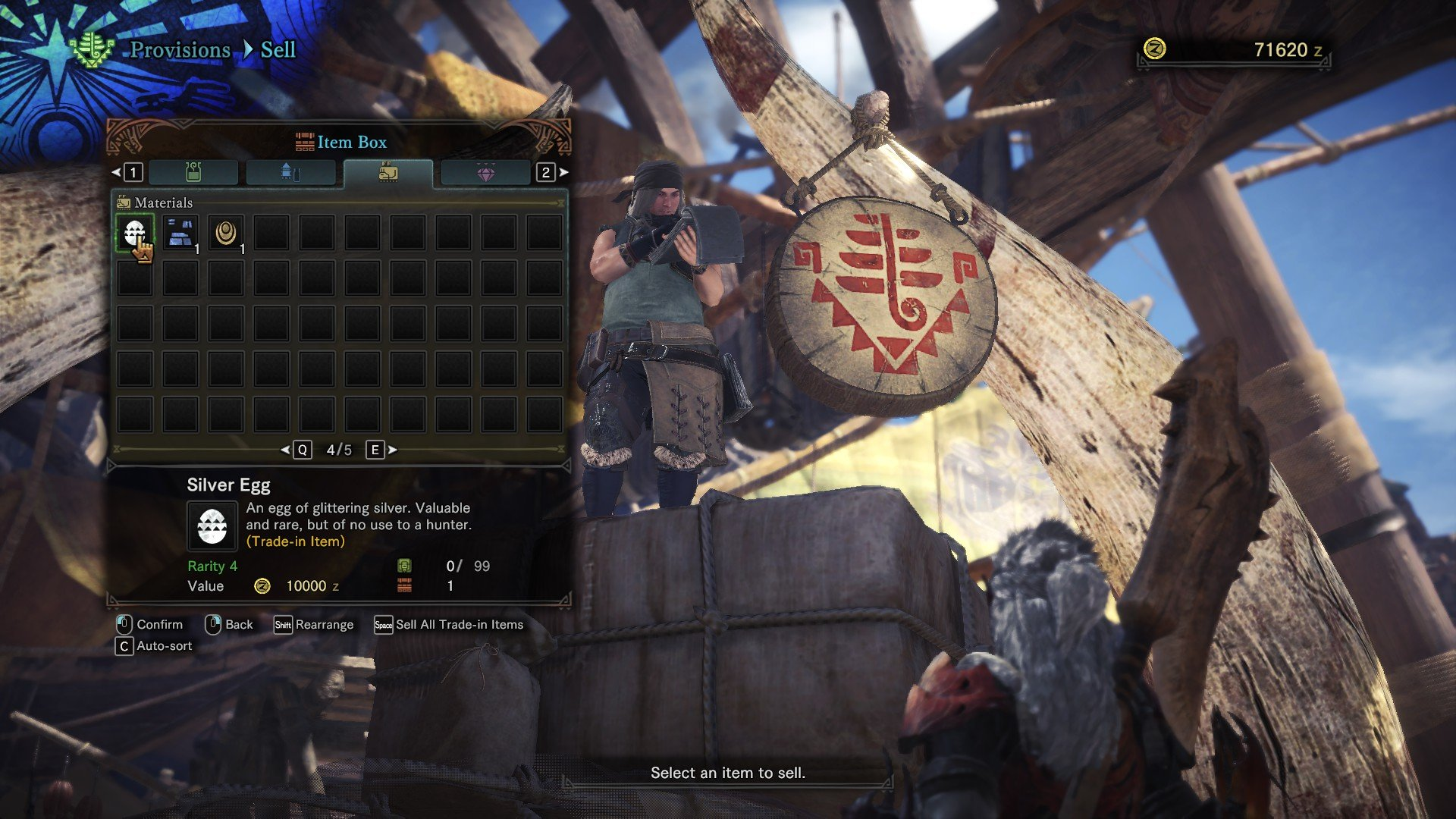 When to sell trade-in items in Monster Hunter: World | Shacknews