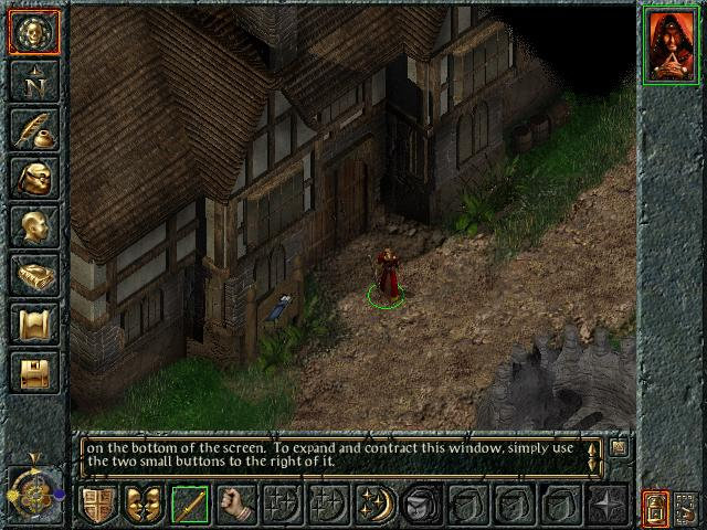Candlekeep in Baldur's Gate.