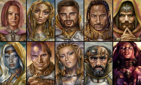 Companions in Baldur's Gate.