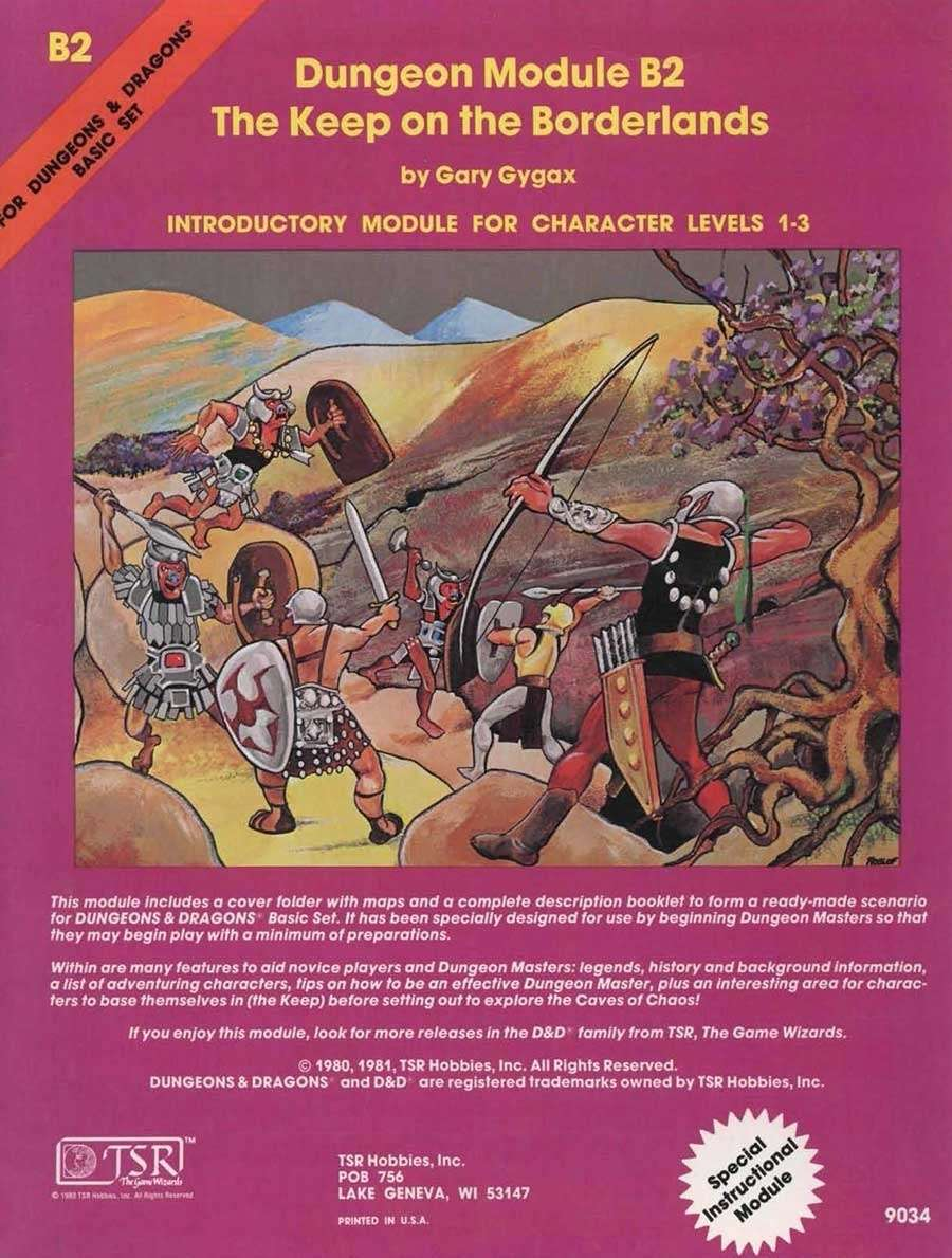 The first D&D campaign Ohlen played.
