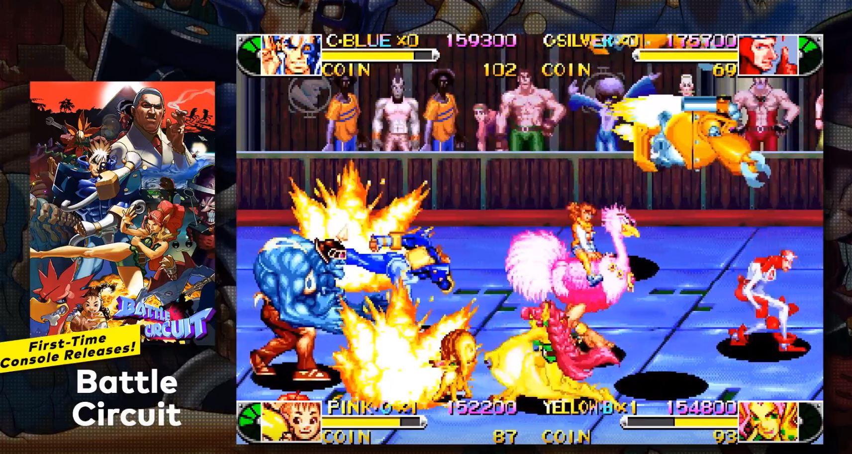Capcom Beat Em Up Bundle Arrives On Nintendo Switch Next Week