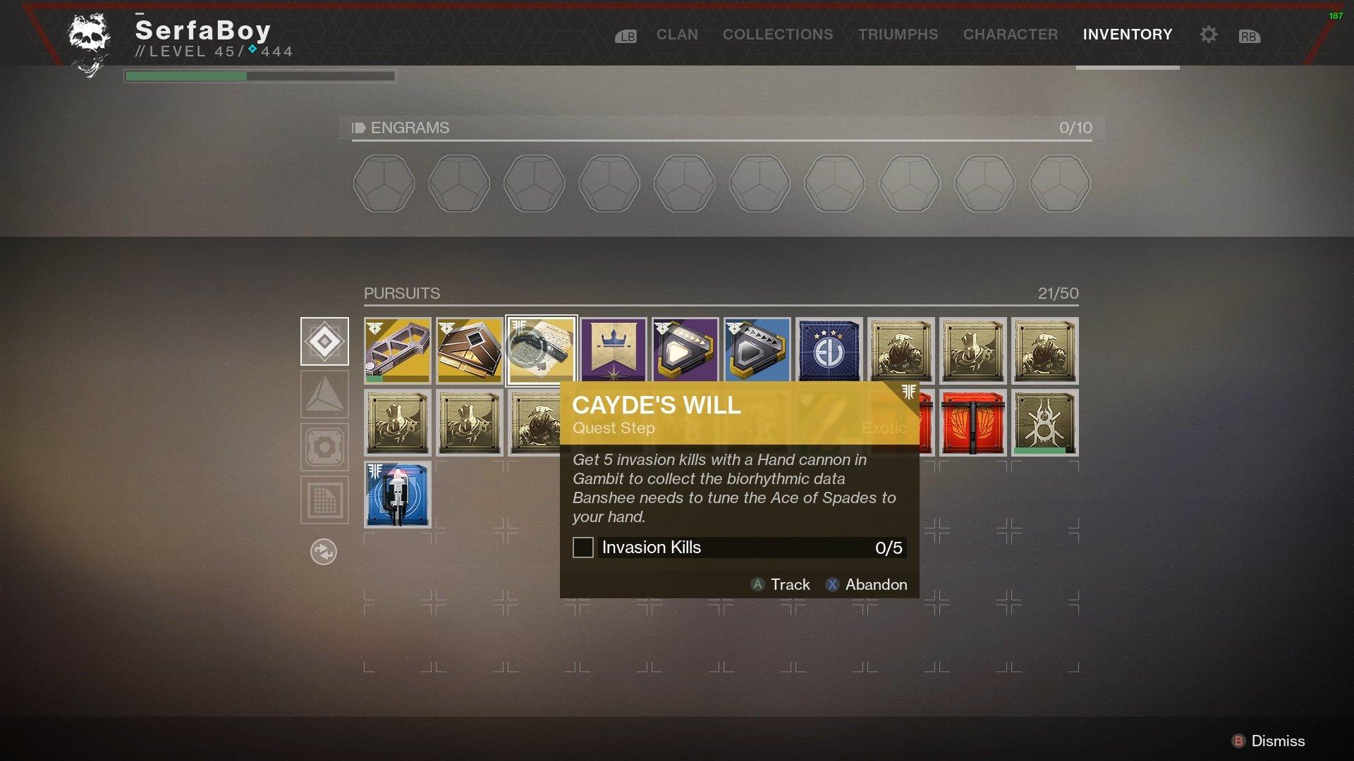 How to unlock Ace of Spades in Destiny 2 | Shacknews
